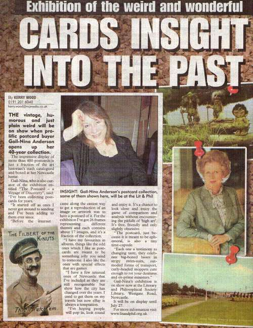 Press coverage in the 'Sunday Sun'